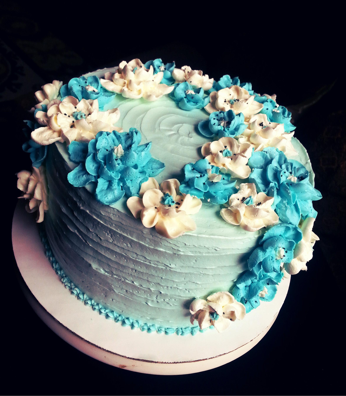 Flowery Birthday Cakes