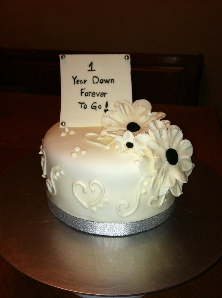 First Anniversary Cakes