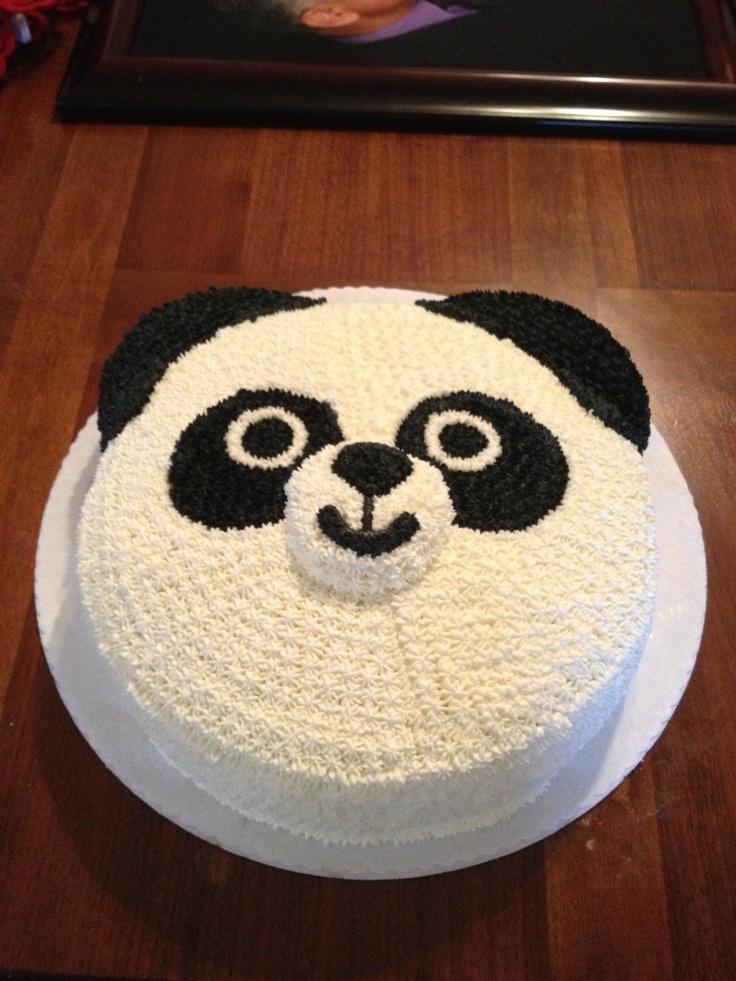Panda Birthday Cakes