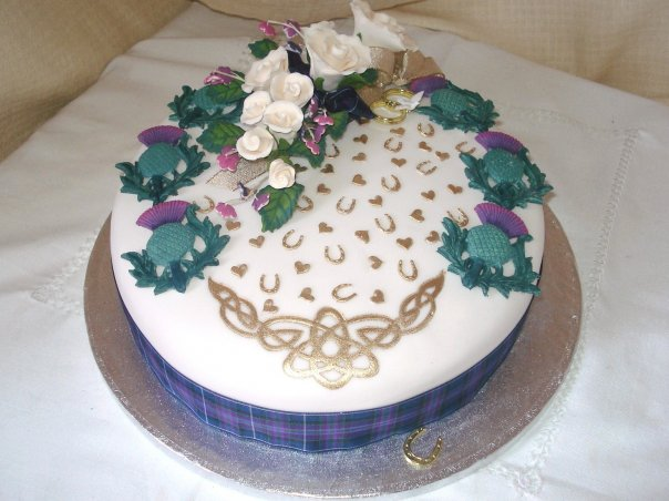 Scottish Birthday Cakes