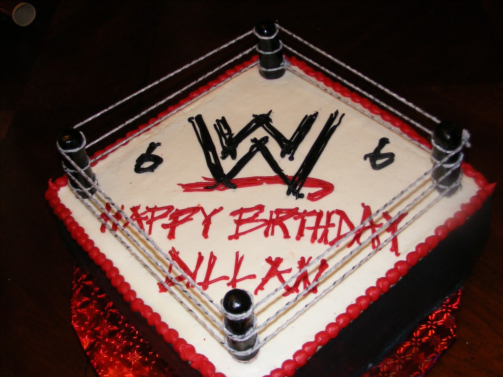 Wwf Birthday Cakes