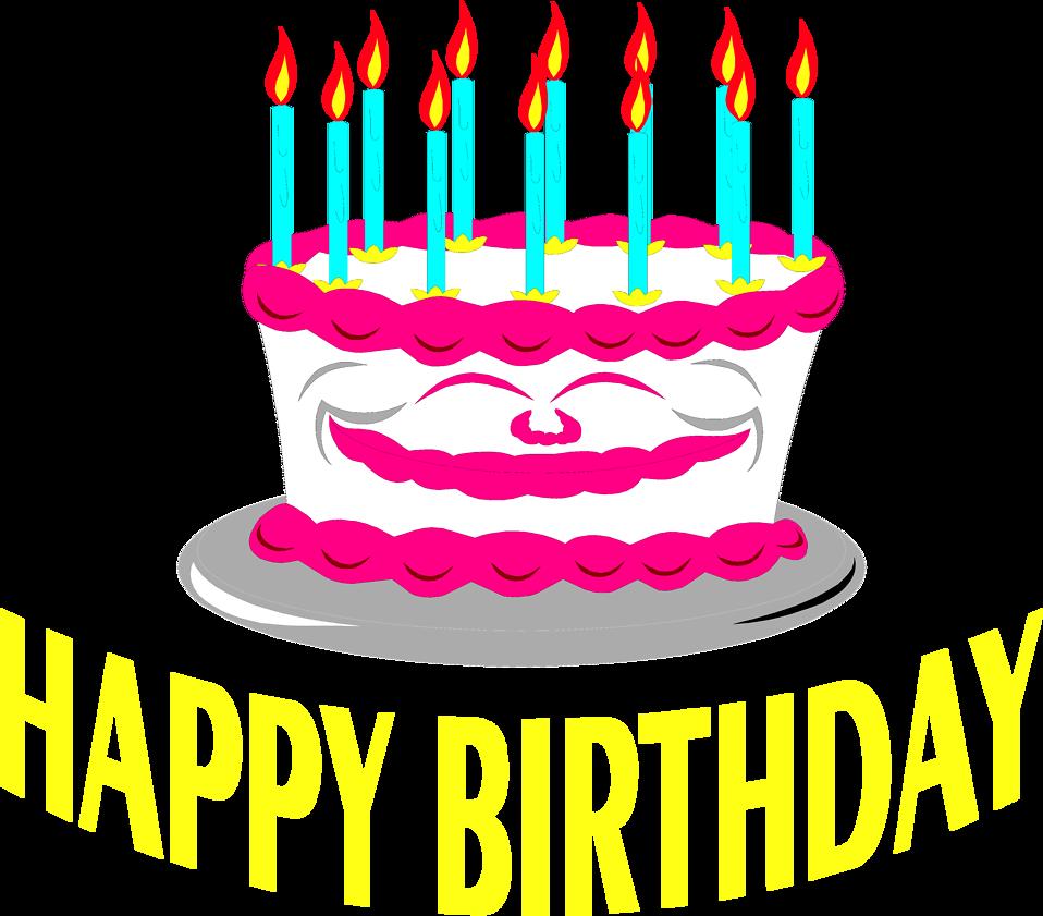 text birthday cakes