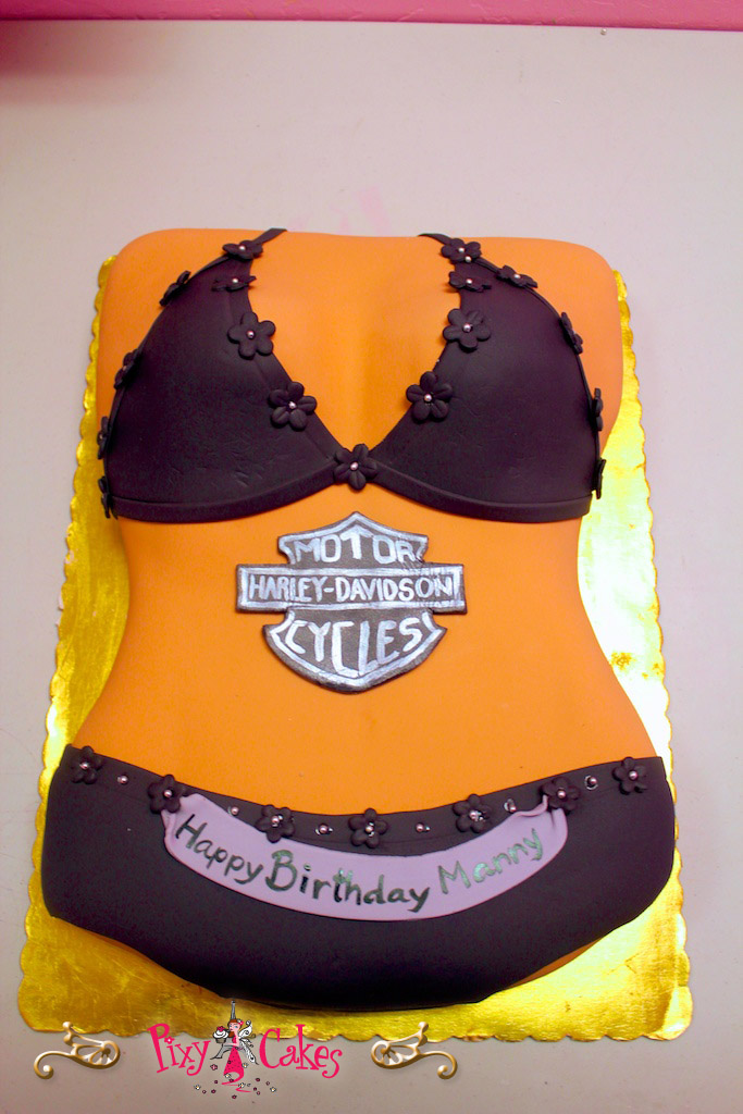 Underwear Birthday Cakes