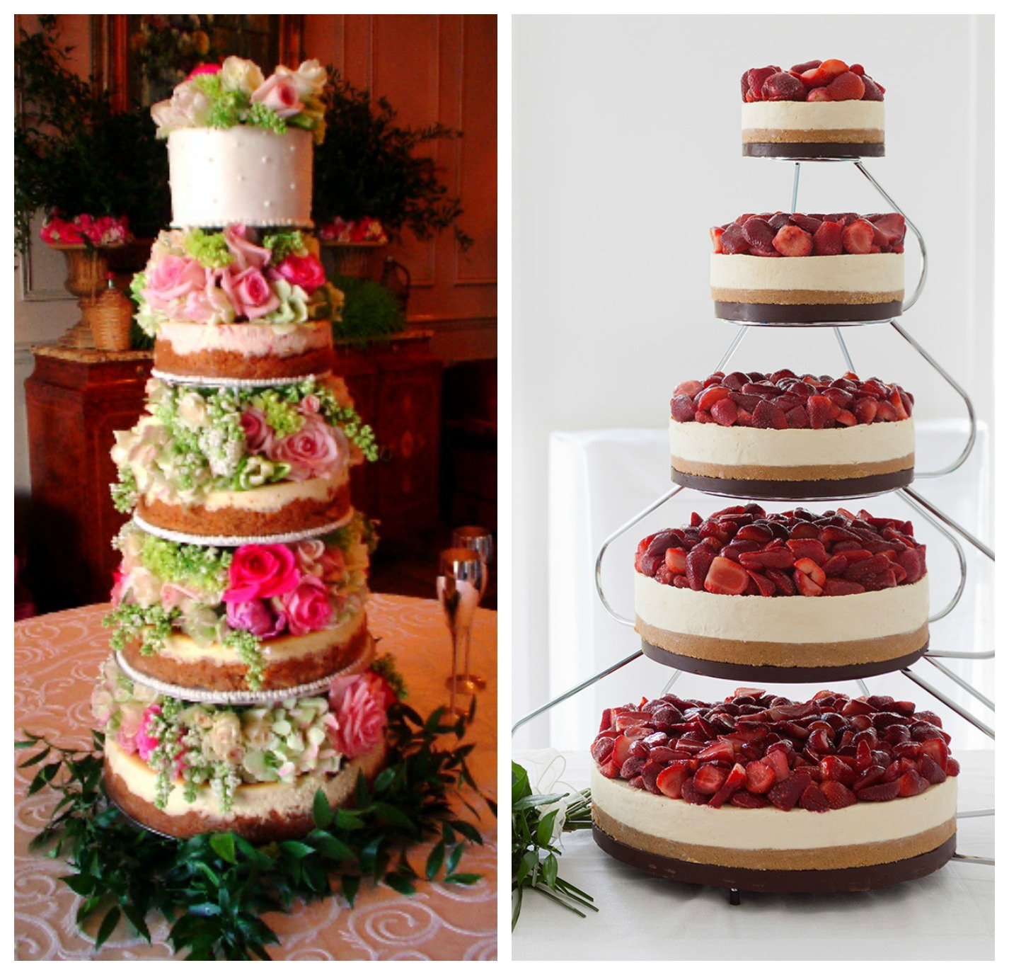 Cheesecake Wedding Cakes
