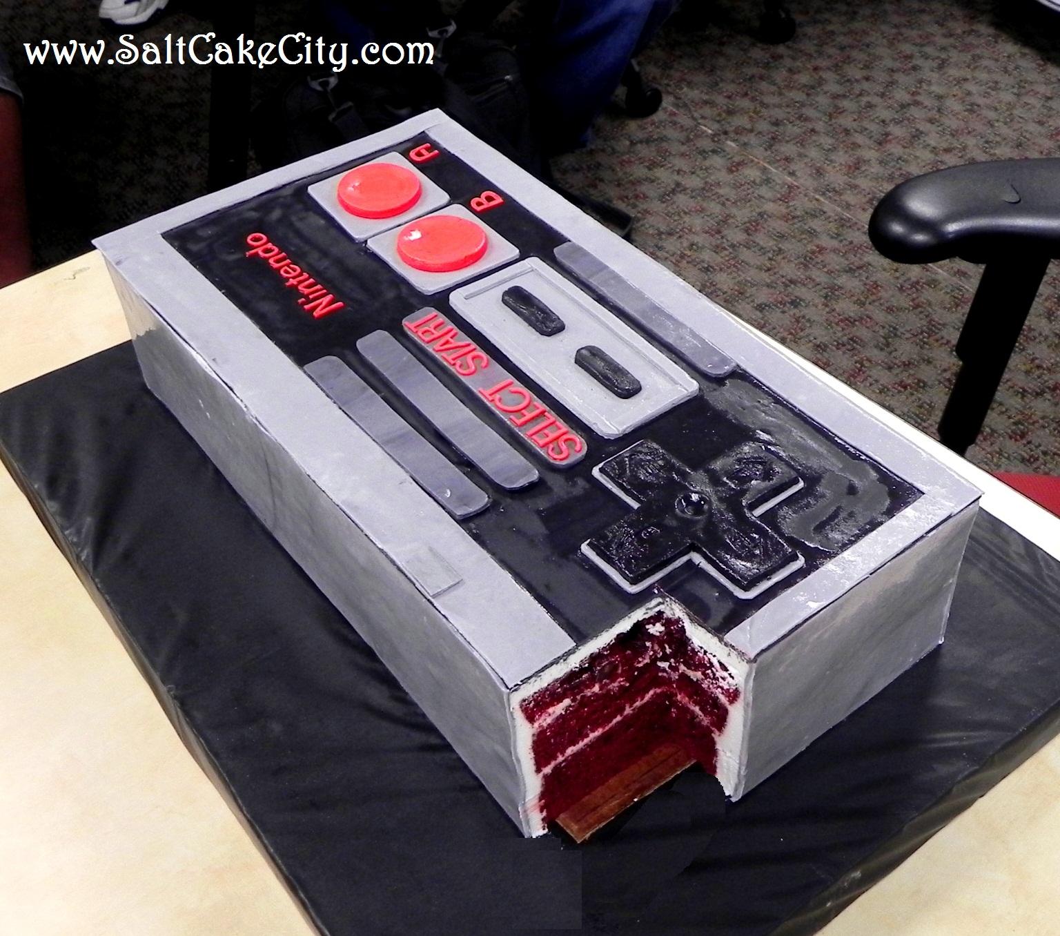 Nintendo Birthday Cakes