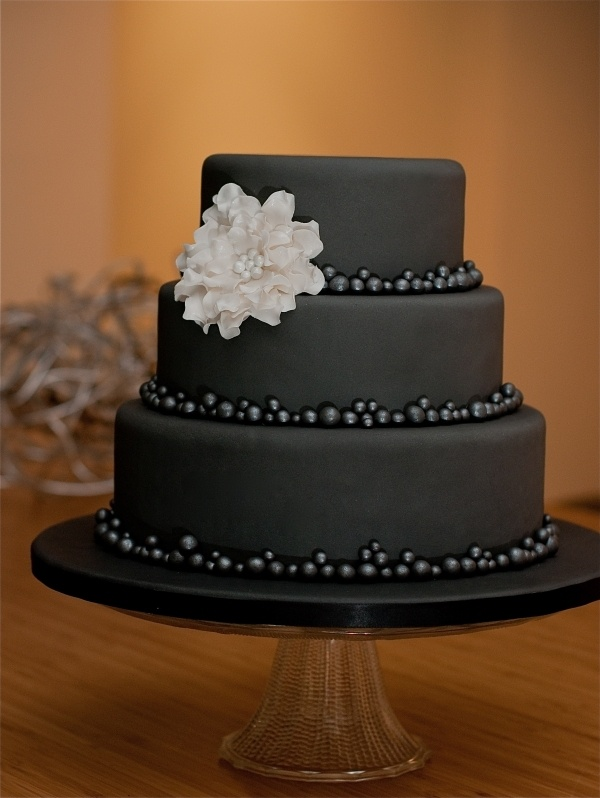 Black Birthday Cakes