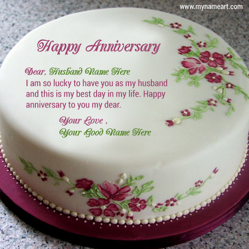 Happy Wedding Anniversary Cake With Name Edit Liamd Pw