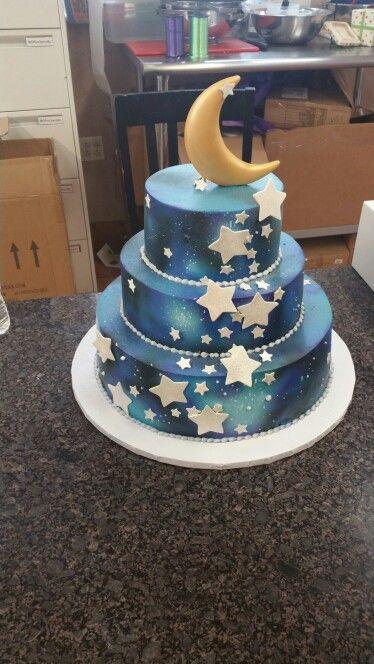 Galaxy Birthday Cakes