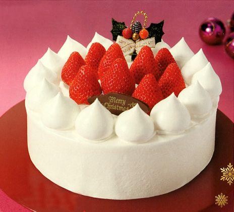 Japanese Christmas Cake.Japanese Christmas Cakes