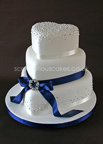 Navy Wedding Cakes