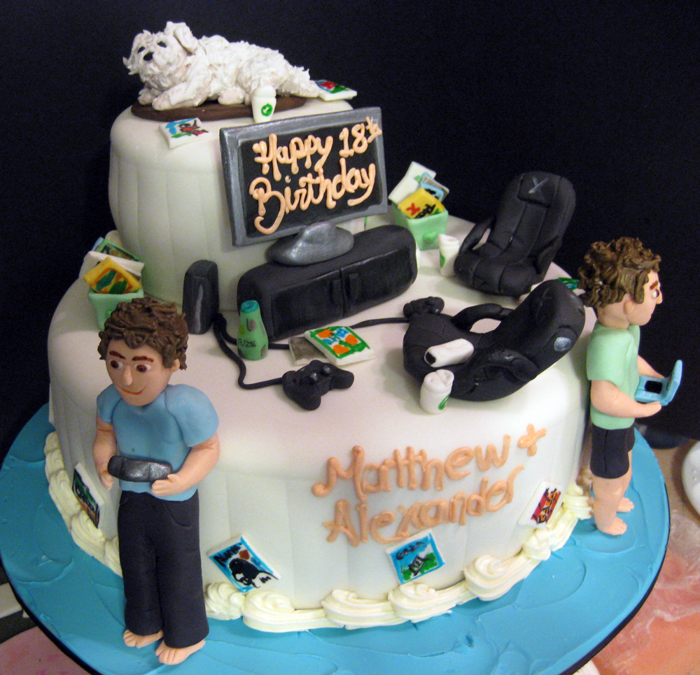 Gamer Birthday Cakes