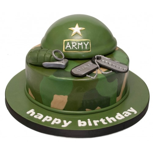 Army Birthday Cakes