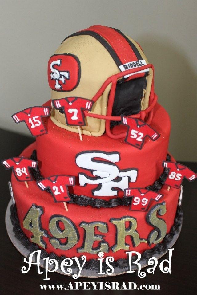 49ers Birthday Cakes