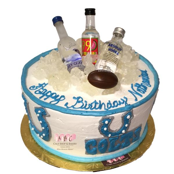 Vodka Birthday Cake A