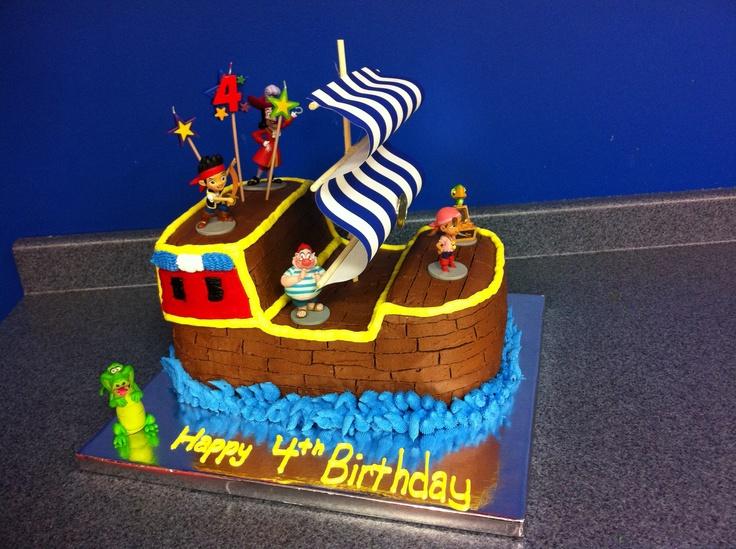 Ship Birthday Cakes