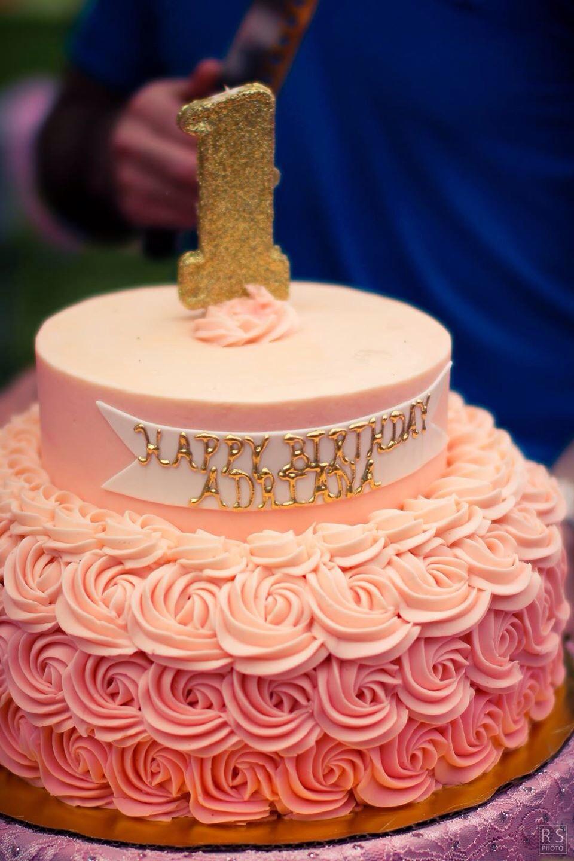 Cream Birthday Cakes