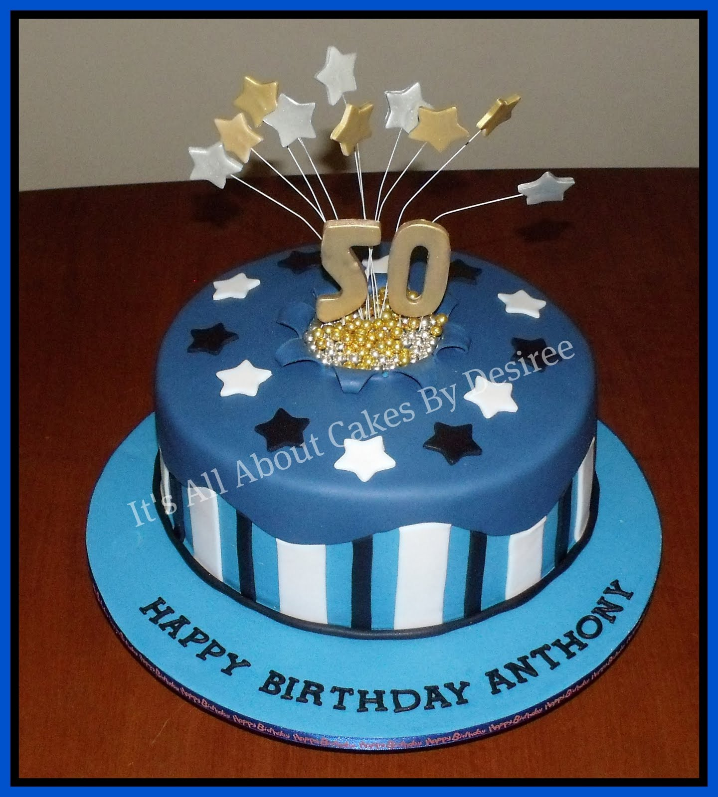 Cake Decorating Ideas For Mens Birthday