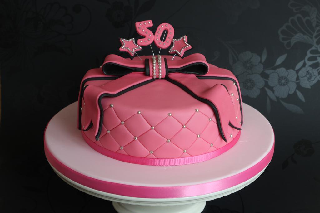 Female 50th Birthday Cake Ideas