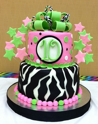 10Th Birthday Cakes