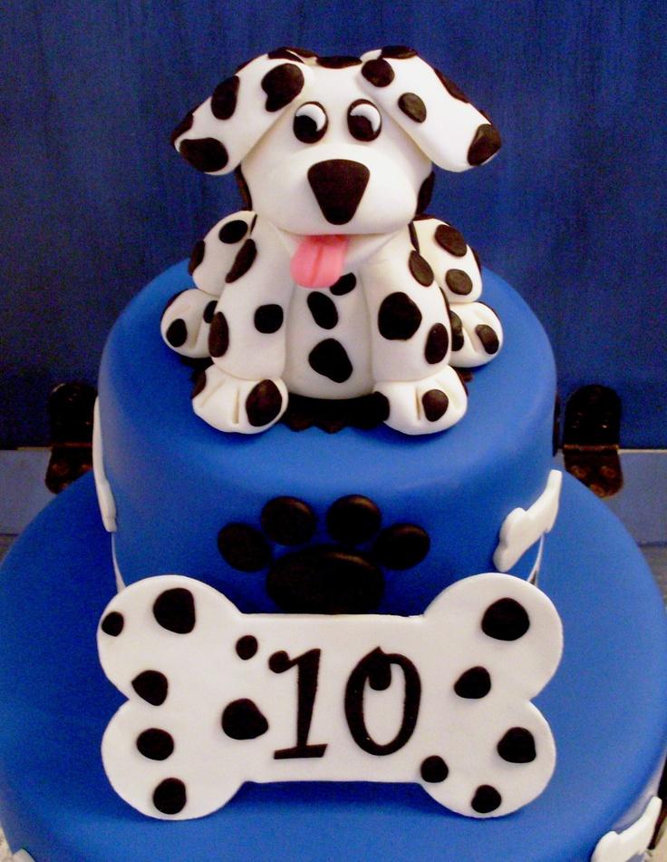 Dalmation Birthday Cakes