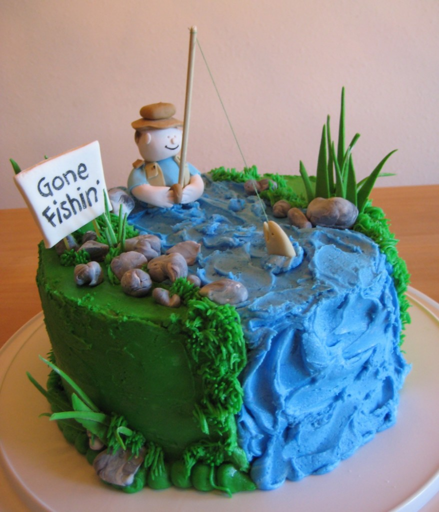 Fishing Birthday Cakes