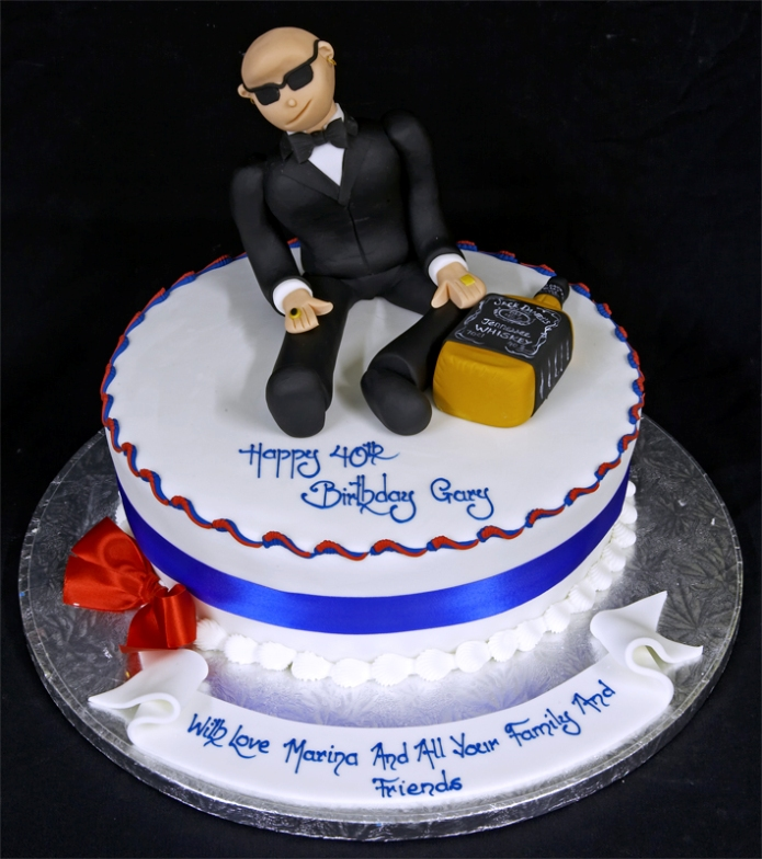 Picture Of A Birthday Cake For Man