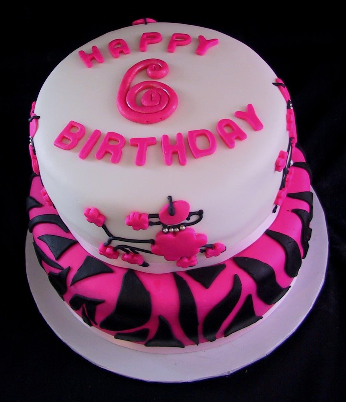 87 6th Birthday Cake Boy
