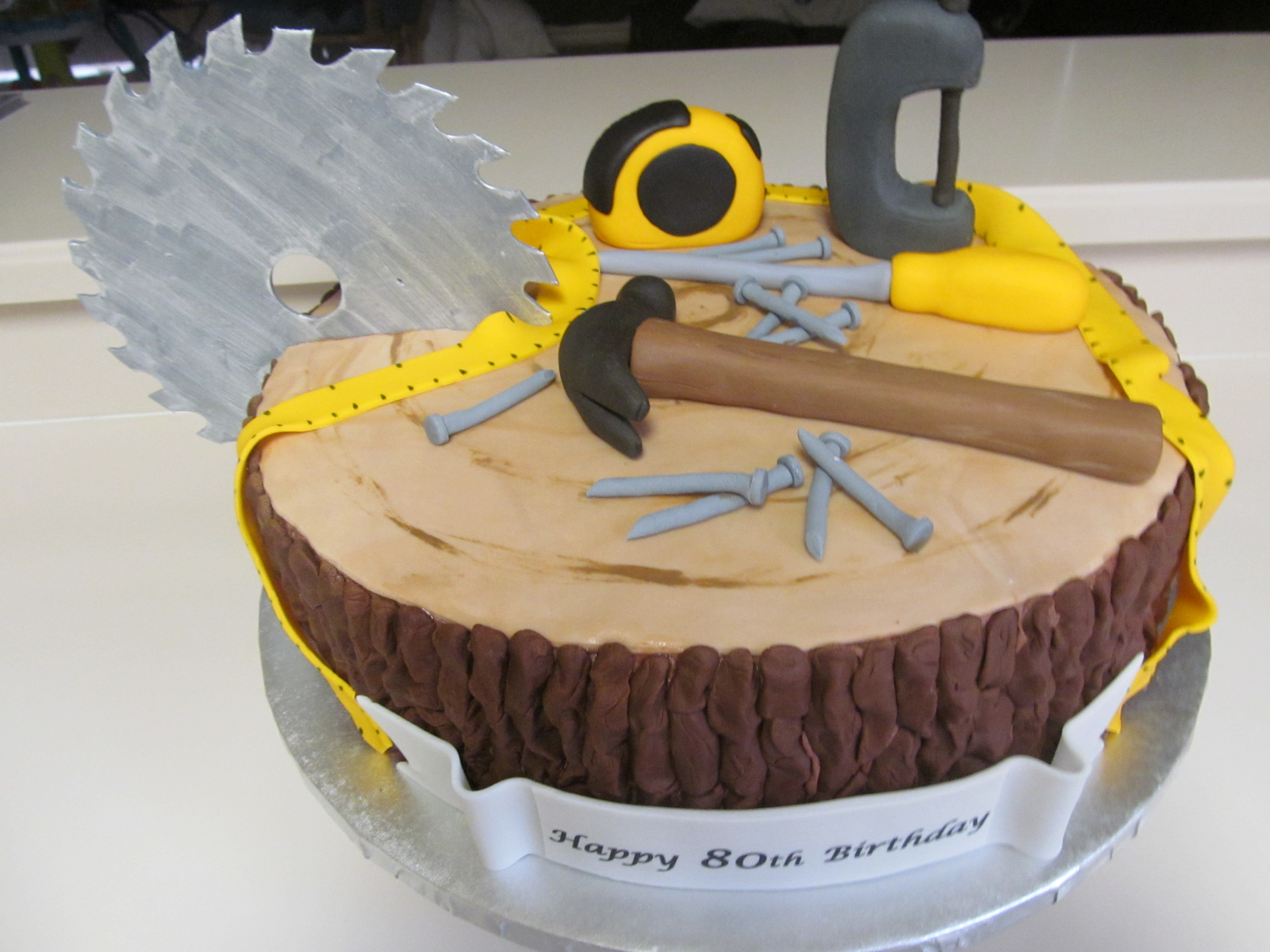 Carpenter Birthday Cakes