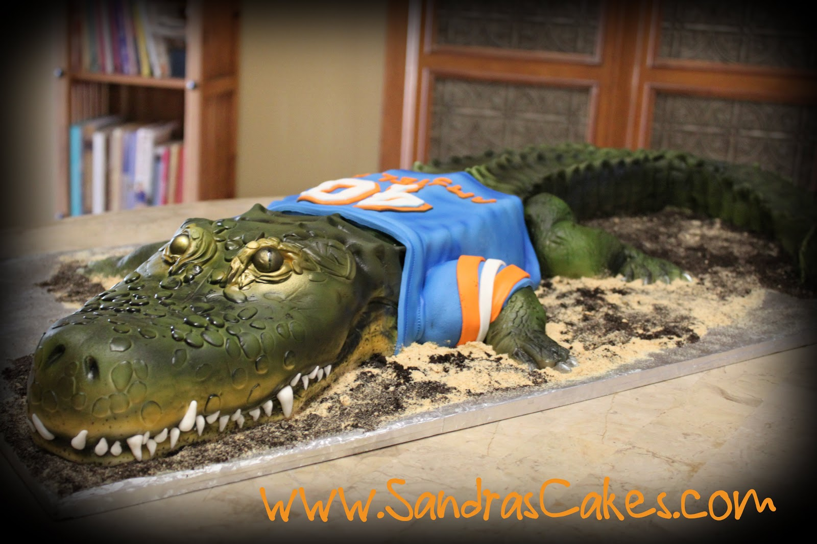Gator Birthday Cakes