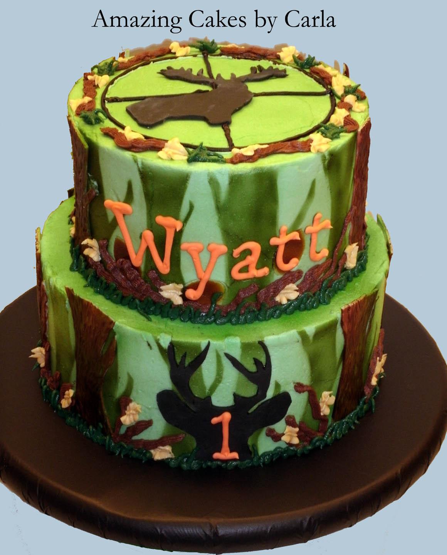 Hunters Birthday Cakes
