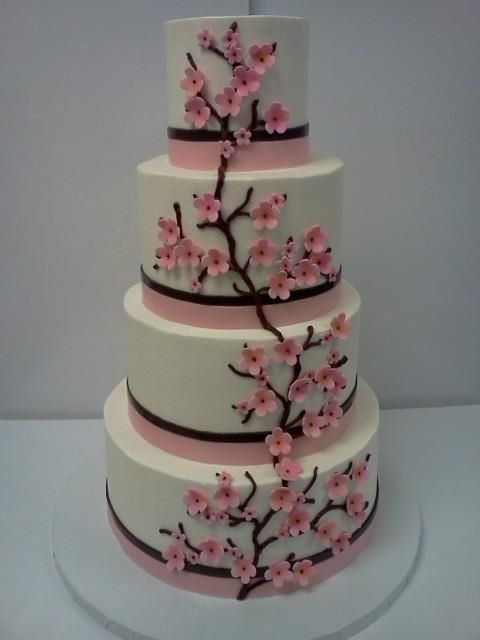 Cherry Wedding Cakes
