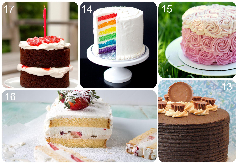 Recipes Birthday Cakes