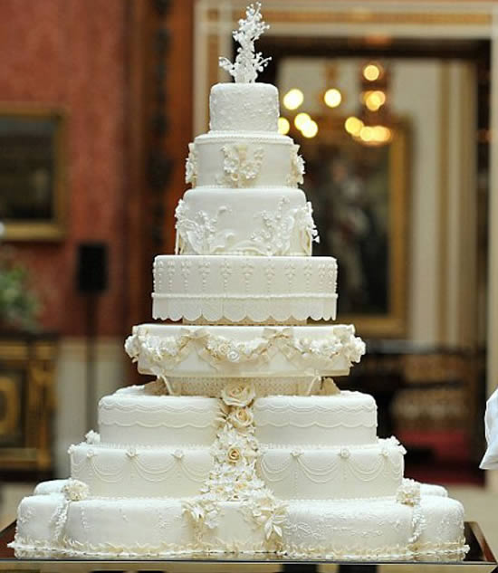 Best Celebrity Wedding Cakes Of 2017 Weddingsutra Blog