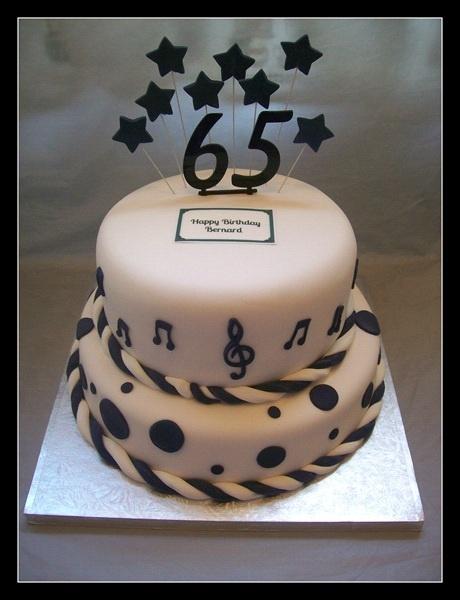 86 65 Birthday Cake Designs