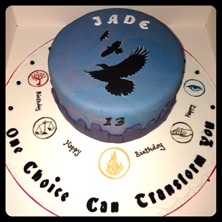 Divergent Birthday Cakes