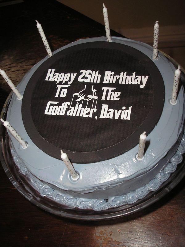 Godfather Birthday Cakes