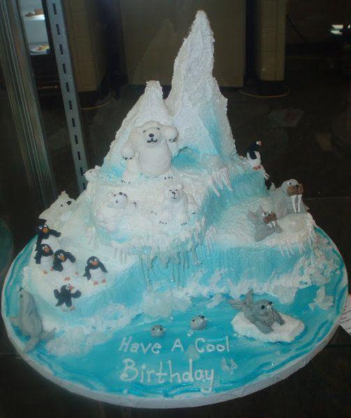 Walrus Birthday Cakes