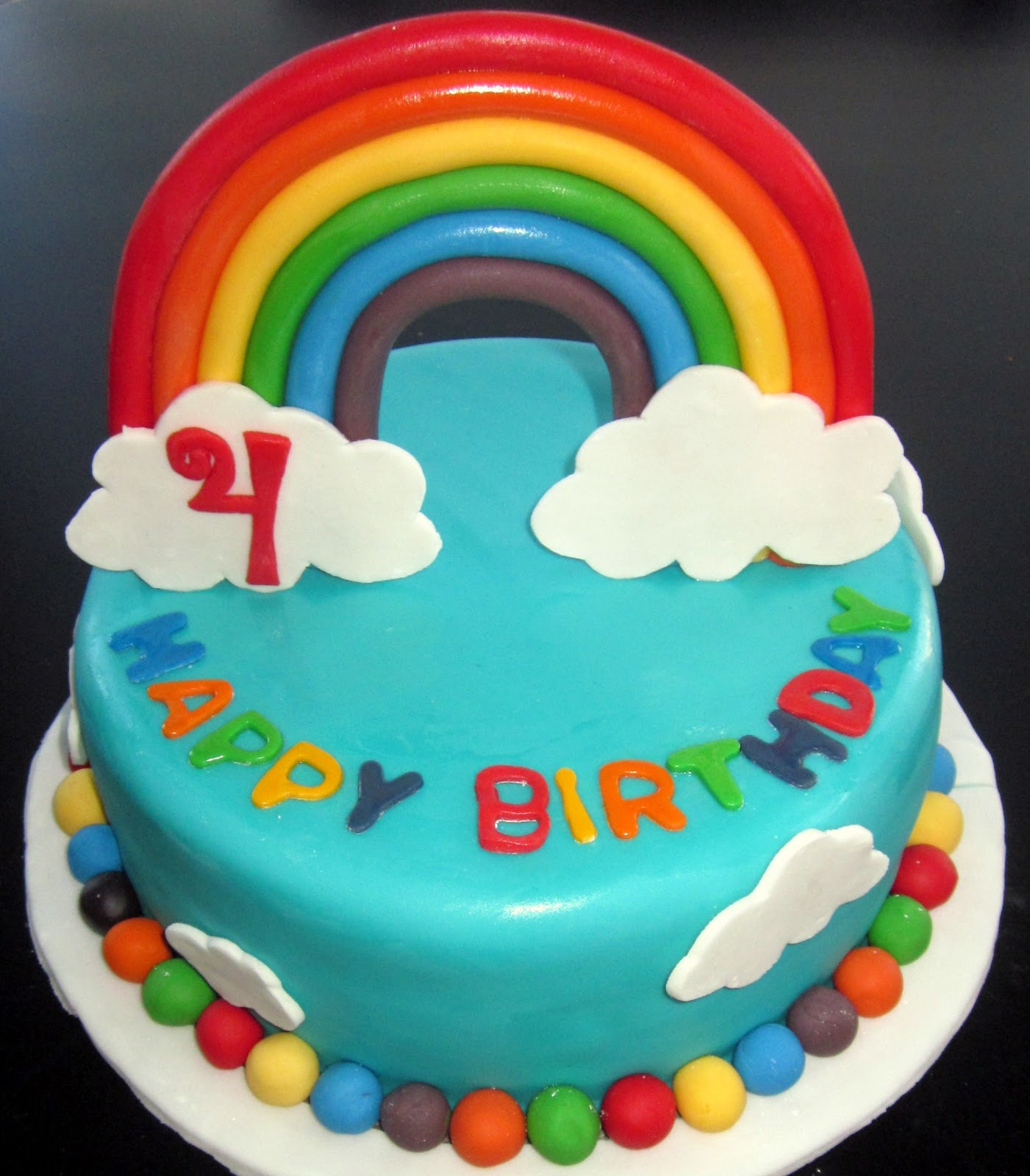 Rainbow Birthday Cakes