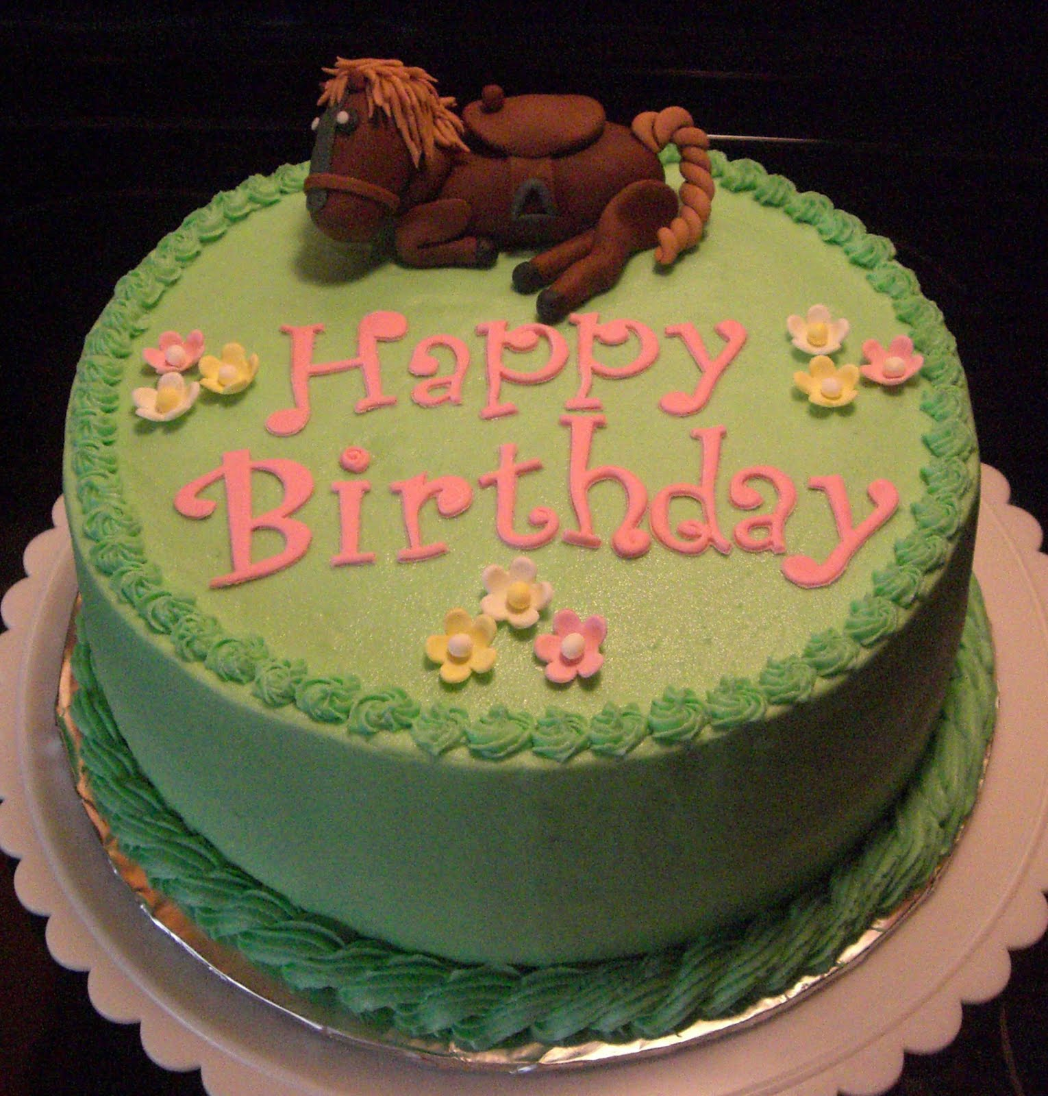 Horse Birthday Cakes