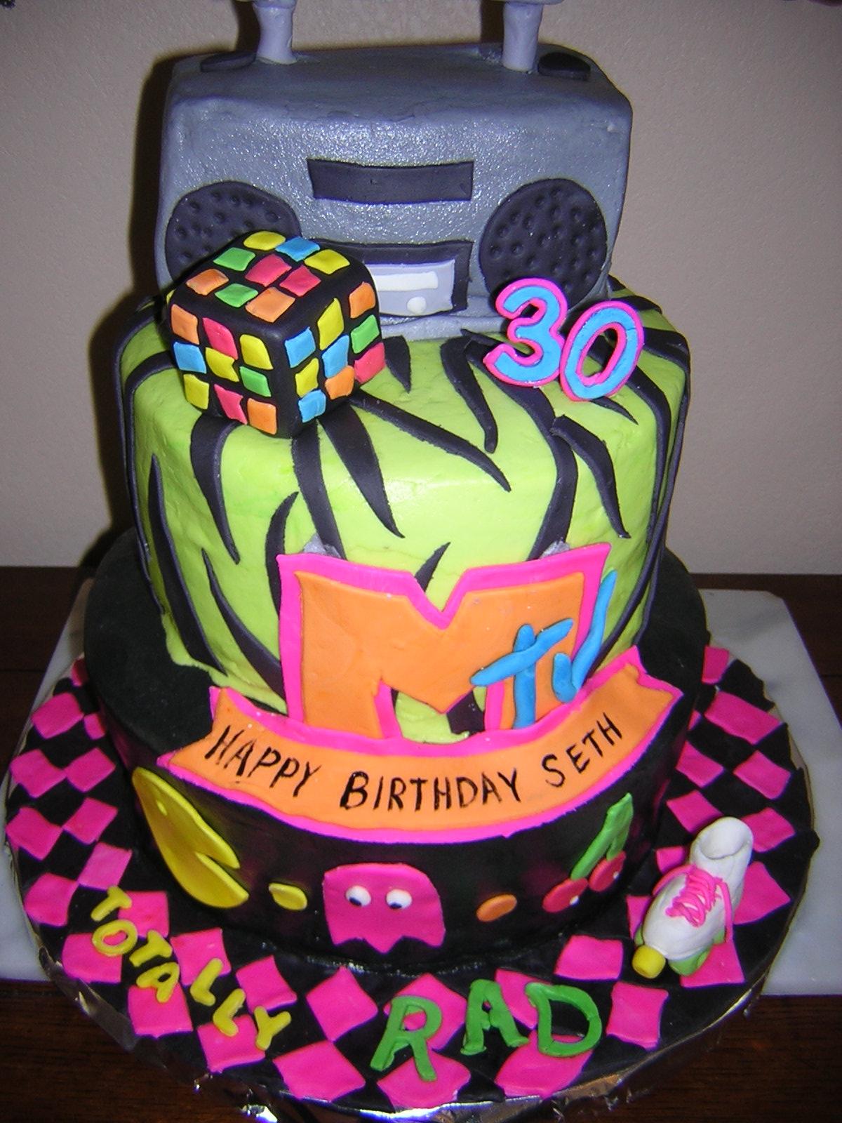80S Birthday Cakes