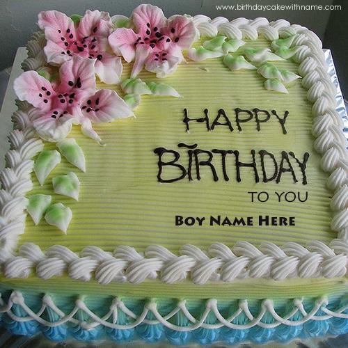Editable Birthday Cakes