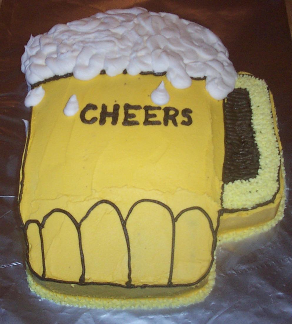 Beer Mug Cakes Decoration Ideas Little Birthday
