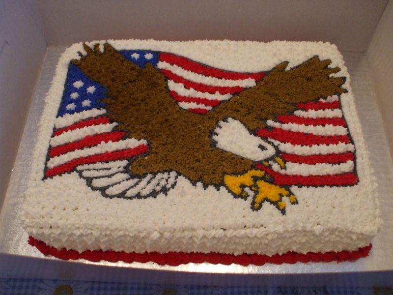 Eagle Birthday Cakes