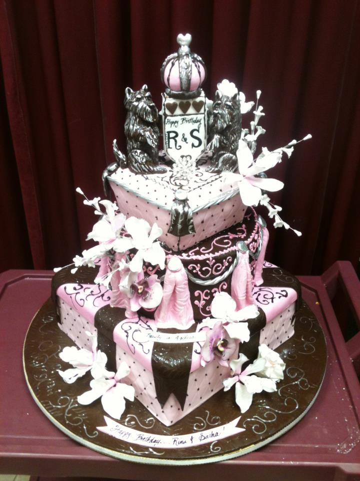 Sophisticated Birthday Cakes