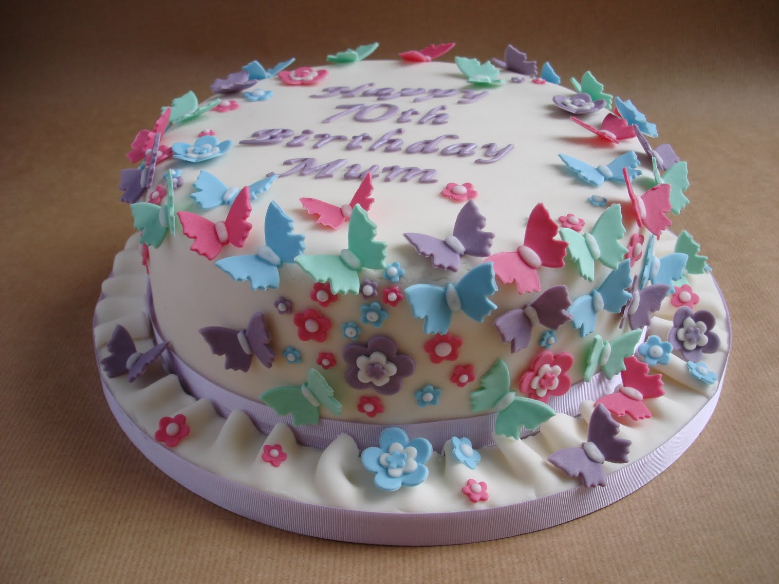 The 3rd Butterfly Cake