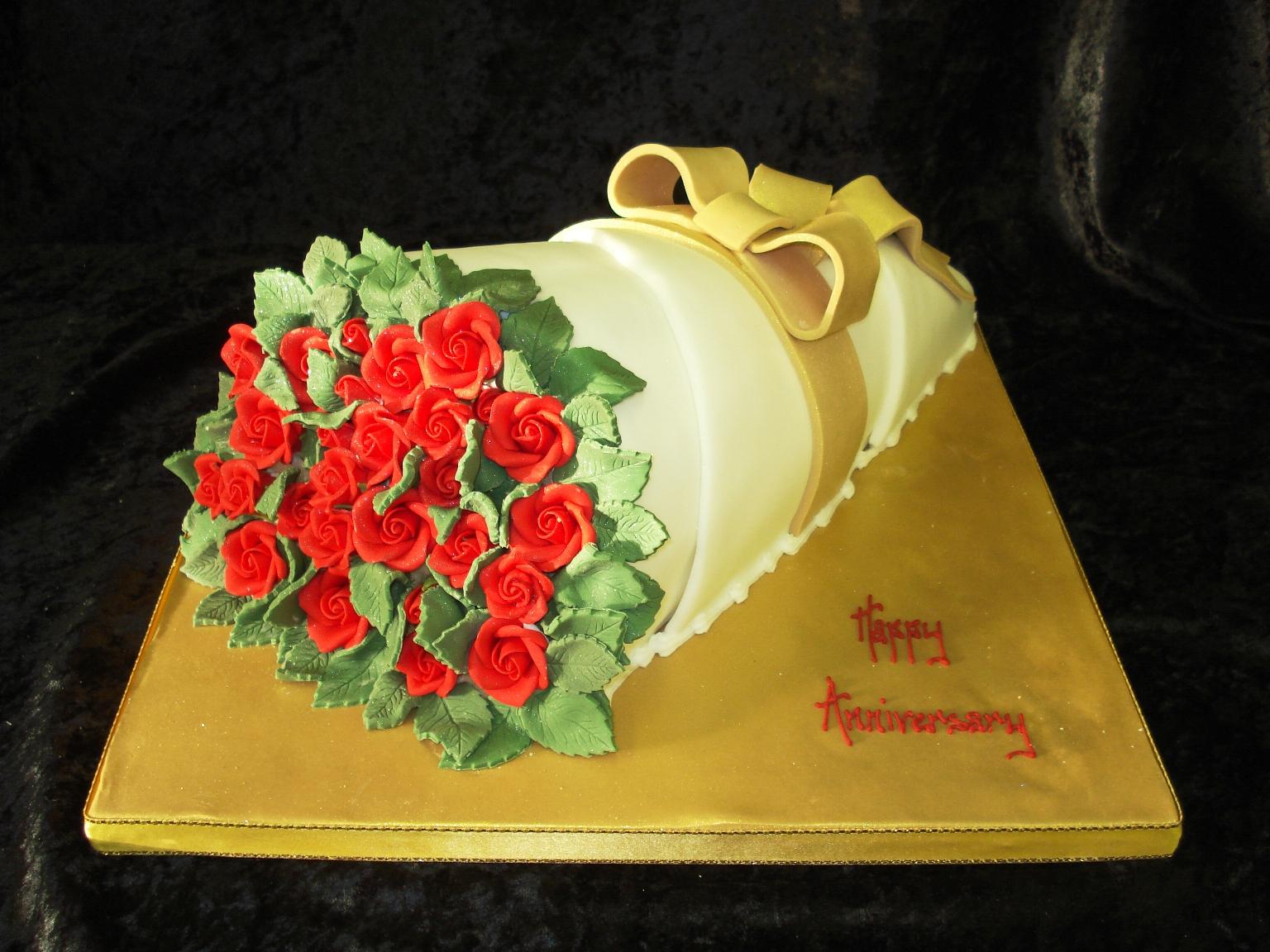 Roses birthday cakes izmirmasajfo