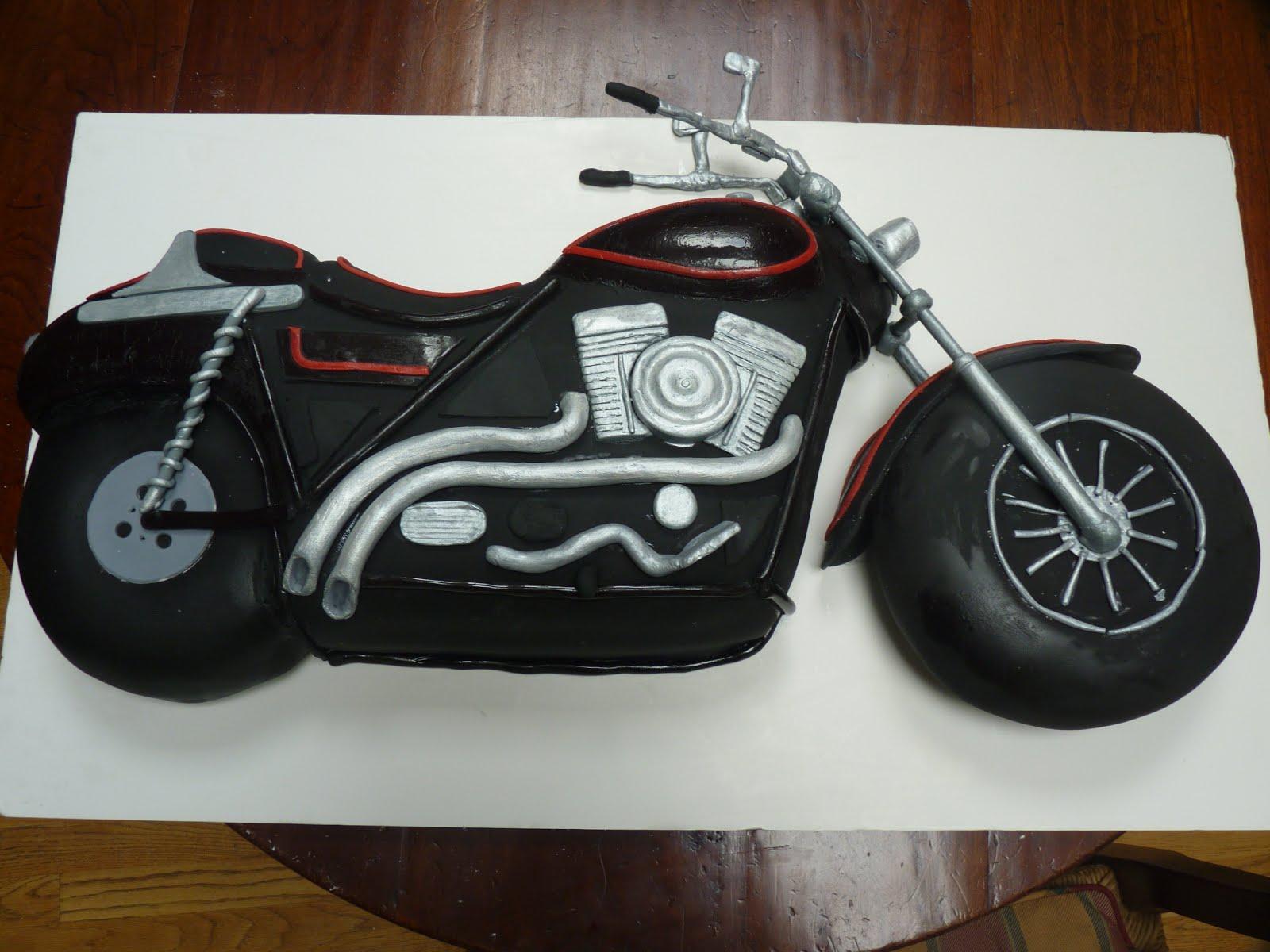 Motorbike Birthday Cake Template Yahoo P Y Invitations