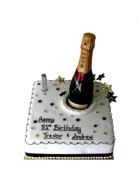 Champagne Birthday Cake Images | Hemmensland