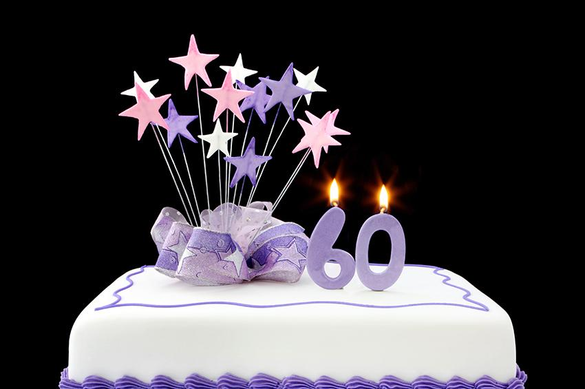 Surfing Elvis 60th Birthday Cake