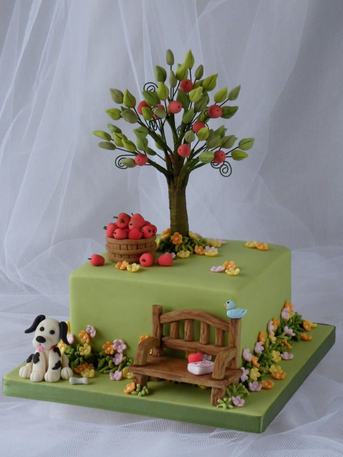 Tree Birthday Cakes